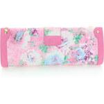Růžová květovaná kabelka Monique