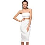 BeWear Bílá sukně BW007