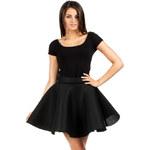 Černá sukně MOE 059