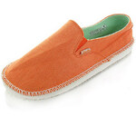 Dude Shoes Dámské oranžové mokasíny Lana