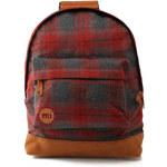 Červený batoh Mi-Pac Premium Plaid