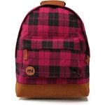Fuchsiový batoh Mi-Pac Premium Plaid