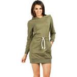 Zelené šaty MOE 116