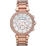 Dámské růžovo-zlaté hodinky Michael Kors MK5491