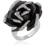 LYRA Prsten s čirými Zirkony R08116T-C01