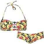 ONeill Flower Bandeau Bikini dámské Yellow 34B