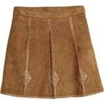 H&M Vyšívaná sukně
