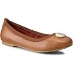 Baleríny TOMMY HILFIGER - Amy 45A FW56820554 Cognac 606