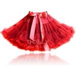 LE PETIT TOM Dolly sukně Červená Karkulka Velikost: LARGE(velikost 34-38) - délka sukně 38 cm