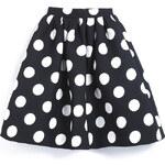 SHEIN Dámská sukně Neopren černá Velikost: L