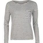 Only Clare Stripe T Shirt, black stripe