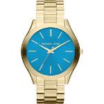 Dámské zlato-tyrkysové hodinky Michael Kors MK3265