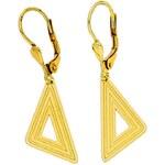 Goldstore Zlaté náušnice tvar trojúhelník