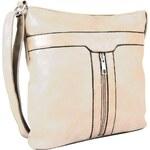 Sun-bags Elegantní crossbody kabelka H0413 béžová