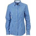 Dámská kostkovaná košile - Královská XS