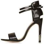Topshop RATED Metal Tip Sandals
