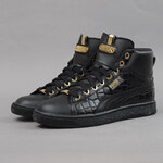 Puma Basket Mid Exotic Wn's black - gold foil