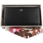 Dámská kožená peněženka David Jones černá