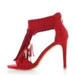 Sergio Todzi Červené sandály Tapira