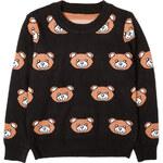 Lesara Kinder-Pullover mit Teddy-Muster - 92