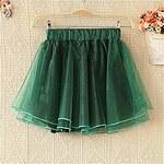 LightInTheBox Women's Crinoline Chiffon Skirt