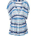 Missoni Mare Zigzag Knit Drawstring Tunic