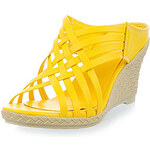 LightInTheBox Leatherette Women's Wedge Heel Platform Sandals Shoes(More Colors)