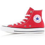 Converse Dámské červené vysoké tenisky Chuck Taylor All Star