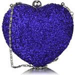LS Modrá kabelka Heartie