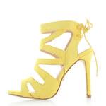 Ideal Žluté sandály Pebble