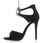 Belle Women Černé sandály Elegy