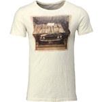 Esprit cotton slub jersey T-shirt