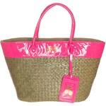Le Temps Des Cerises FLUO 1 Shopping Bag rose