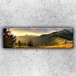 Xdecor Slunné hory 1 (140 x 40 cm) - Jednodílný obraz