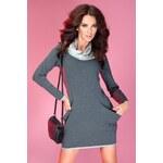 SAF Dámské šaty Golf s kapsami tmavě šedé Velikost: L