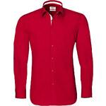 Červená košile Vincenzo Boretti SF706