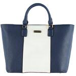 Belle Women Modro-bílá kabelka Mist