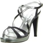 Vista High Heel Sandalette grau
