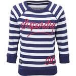 Superdry DECKHAND Sweatshirt french navy stripe