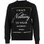 Mikina Rock and Rags Nothing to Wear dám. černá S