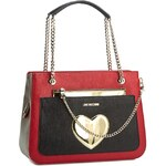 Kabelka LOVE MOSCHINO - JC4226PP01KC050A Rosso/Nero/Avorio