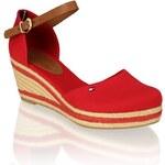 Tommy Hilfiger sandál na podpatku