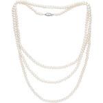 Buka Jewelry Buka Perlový náhrdelník mini Cleopatra – bílá 701