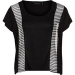 MINKPINK PIECES OF YOU TShirt basic black