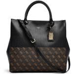 Guess Elegantní business kabelka Hailey Quattro G Shopper Tote multi
