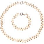 Buka Jewelry BUKA Perlová souprava Rice – bílá 870