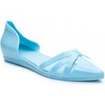 IDEAL Modré dokonalé dámské baleríny, vel. 37
