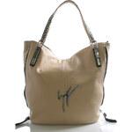 Béžová velká kabelka přes rameno Silvia Rosa Beverly béžová