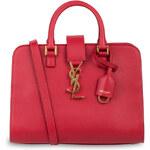 SAINT LAURENT Handtasche CABAS MONOGRAMM SMALL rosa