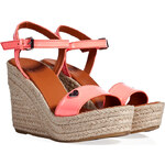 Marc by Marc Jacobs Leather Espadrille Wedges
